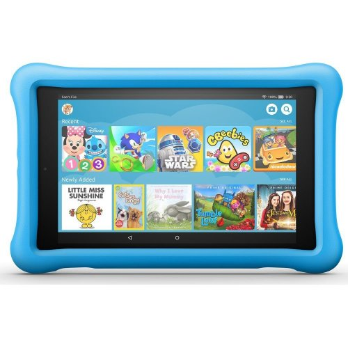 "AMAZON Fire HD 8"" Kids Edition Tablet (Oct 2018) - 32 GB, Blue, Blue"