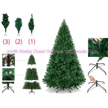 6ft Green Pine Artificial Christmas Tree with 800 Branch Tips