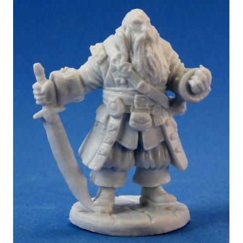 Reaper Bones Barnabus Frost, Pirate Captain
