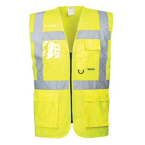 (Yellow, Large) Berlin Executive Vest