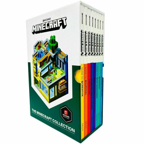 The Official Minecraft Guide Collection 8 Books Box Set Pack By Mojang