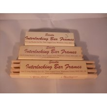 Siesta Frames Pack of 2 Interlocking Bar Frames For Cross Stitch / Embroidery - Choice Of Sizes