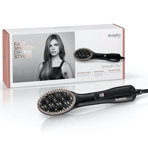BaByliss AirStyler Hot Air Brush With Ionic Frizz-Control