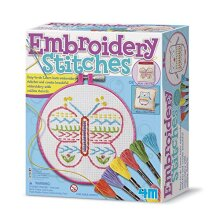 4M Embroidery Stitches Kit