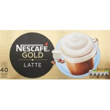 NESCAFÉ GOLD Latte Sachets, Box of 40