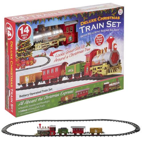 Kids Vintage Train Set | Christmas Train Set