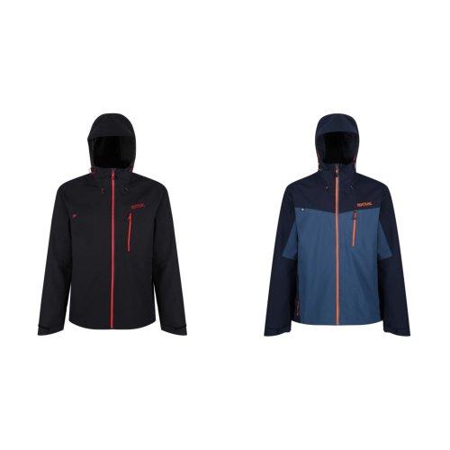 Regatta Mens Birchdale Waterproof Hooded Jacket