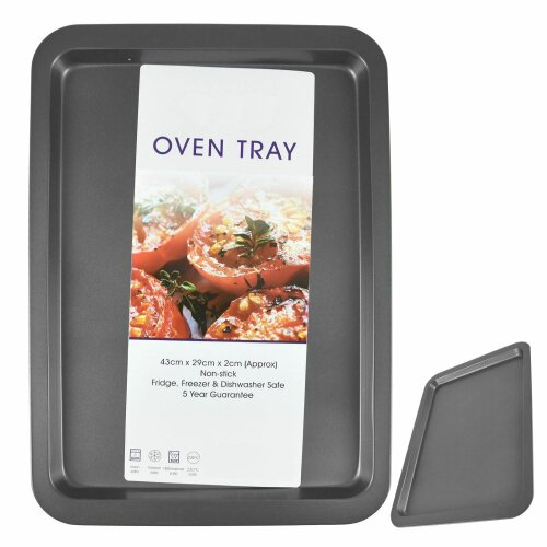 ASAB Large Oven Baking Roasting Trays Dish Non Stick Carbon Steel