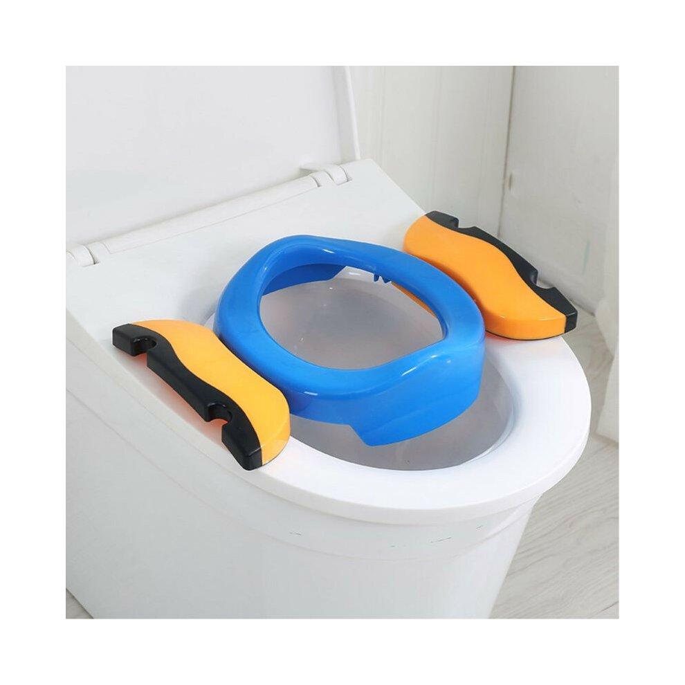 Kid Potty Training Travel Portable Foldable Toddler Toilet Safe Seat On Onbuy