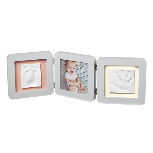 Baby Art My Baby Touch Two Cast with Photo Frame Pastel|Hand/Foot Print Keepsake