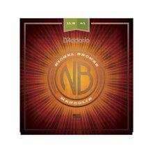 Mandolin Strings D'Addario NBM11541 Nickel Bronze Medium/Heavy 11.5-41 Loop End