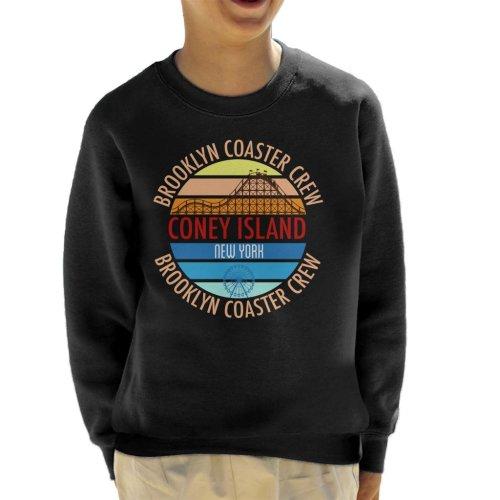 Coney Island Brooklyn Coaster Crew Kid's Sweatshirt
