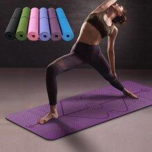 Ultra-light Folding Yoga Mats Printed Mandala Suede Natural Rubber Anti Slip Pilates Blankets Multiple Uses With Yoga Circle
