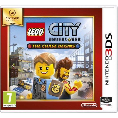 Lego City Undercover: The Chase Begins Selects 3DS