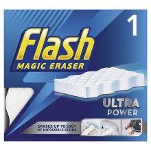 Flash Magic Eraser Extra Power Tough Scrubber