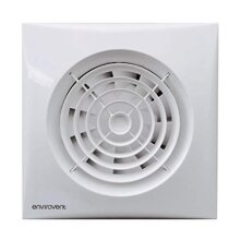 Envirovent SIL100T Silent-100T Axial Silent Extractor Fan Axial 100 mm / 4 Inch Timer Model (White)