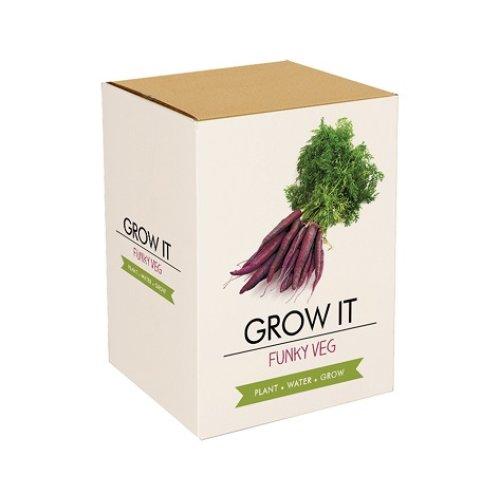 Grow It Funky Veg Crazy vegetables gift Breeding Size