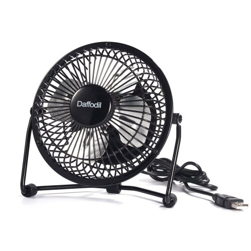 USB Powered Desk Fan - 10cm