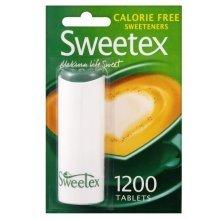 Sweetex Calorie Free Sweeteners 1200 Tablets