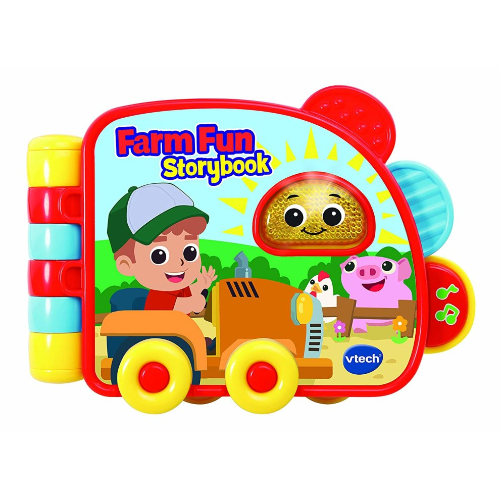 VTech 502063 Farm Fun Storybook Electronic Reading Toy