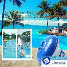 Pool Floating Chlorine Hot Tub Chemical Dispenser For Cleaning Tablet