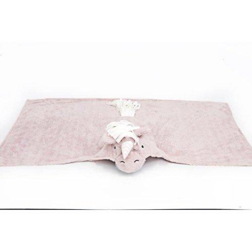 Childrens Hooded Unicorn Pink Bath Beach Towel Wrap