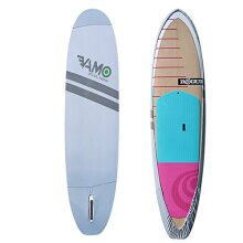 VAMO Stand Up Paddleboard 4-Way Stretch, UV Board Cover for Paddleboards, Kayaks and Surf Boards (Paddleboard not Included) (Gray, 10'6-12')