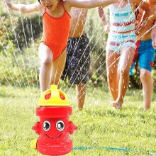 Kids Fire Hydrant Water Sprinkler Sprayer Toy Garden Pipe Hose Water Splash Game