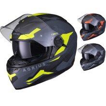 Agrius Rage SV Tracker Motorcycle Helmet