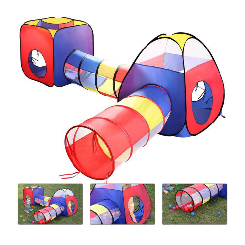 Baby PlayhouseTents Pop Up Tunnel Baby Toddler Crawl