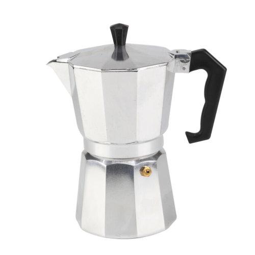 6 Cup Coffee Percolator | 300ml Moka Pot Stove Top Espresso Maker