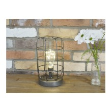 Industrial Style Battery Operated Table Lamp