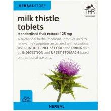Herbalstore Milk Thistle Herbal Tablets - 125mg X 30 Tablets