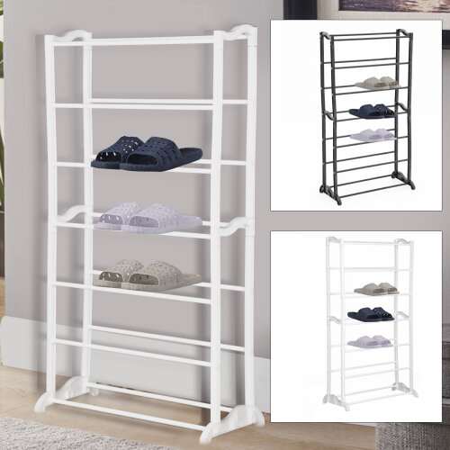 7-Tier Shoe Rack Storage Organiser Stand Shelf