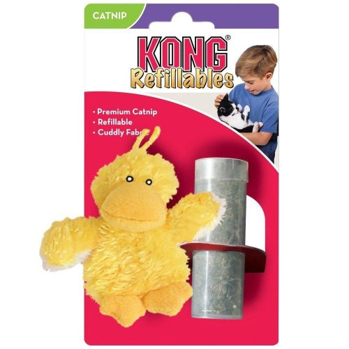 KONG Refillable Duck Catnip Cat Toy