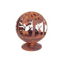 Fire Globe - Woodland Scene