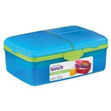 Sistema Lunch Slimline Quaddie 1.5L - Assorted Colors