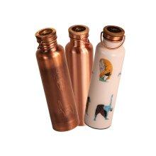 Pure Copper Yoga Bottle - Natural Water Detox