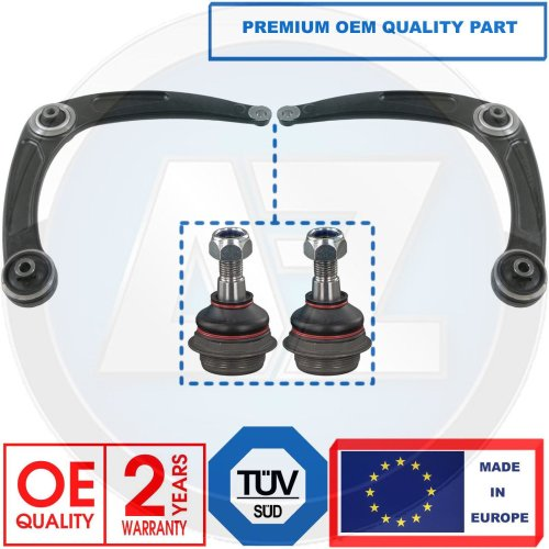 FOR CITROEN BERLINGO C4 FRONT LOWER SUSPENSION WISHBONE CONTROL ARMS BALL JOINTS