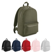 BagBase Plain Essential Fashion School Sports Gym Travel Backpack Rucksack Bag