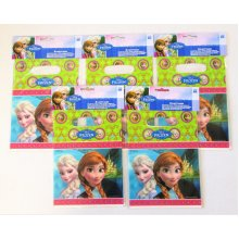 Pack of 30 Disney Frozen Plastic Party Bags - Favour loot bag