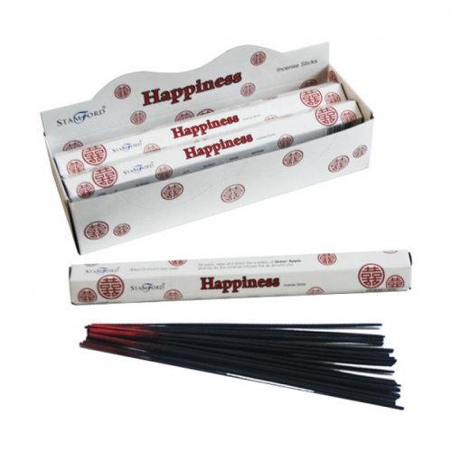 Happiness Stamford Hex Incense Sticks - Set of 6