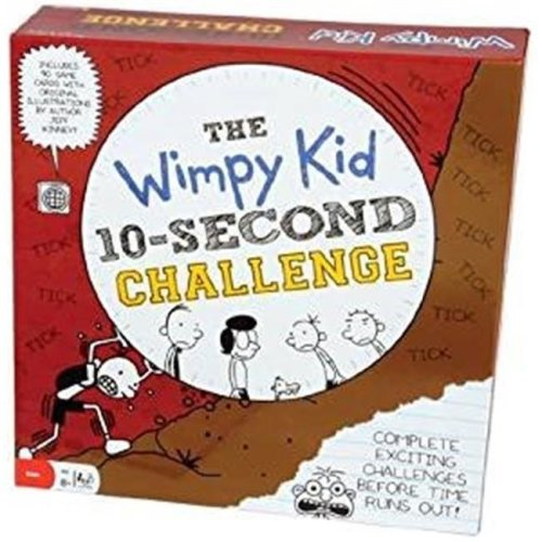 Pressman 21730 Diary of a Wimpy Kid 10-Second Challenge