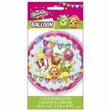 Shopkins 18 inch Foil Balloon