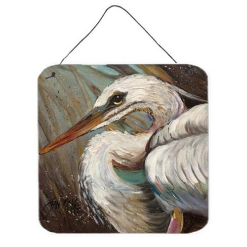 White Egret Wall and Door Hanging Prints