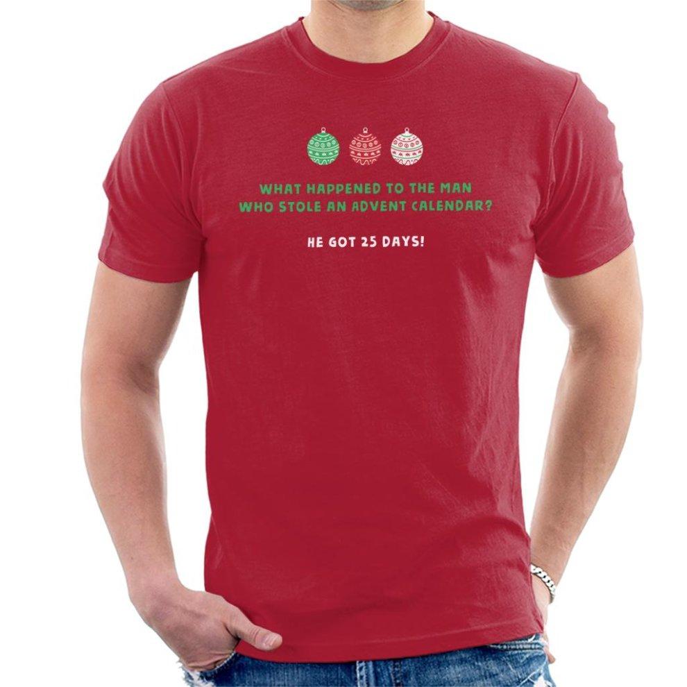(XX-Large, Cherry Red) Christmas Cracker Joke Stolen ...