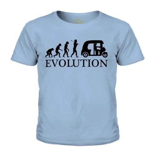 Candymix - Tuk Tuk Evolution Of Man - Unisex Kid's T-Shirt
