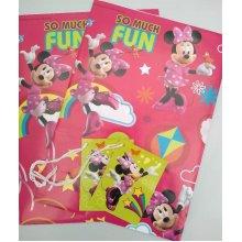 Disney Minnie Mouse gift wrap