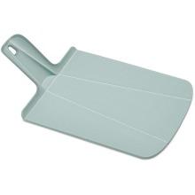 Joseph Joseph Chop2Pot Plus, Folding Chopping Board, Grey/Blue, Small