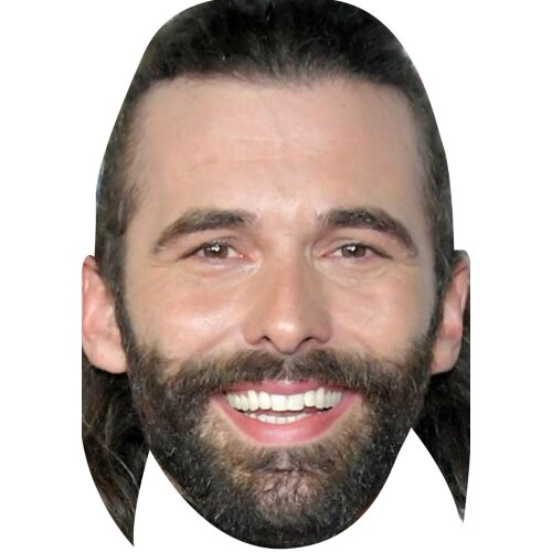 Jonathan van ness queer eye tv movie star celebrity party face fancy dress